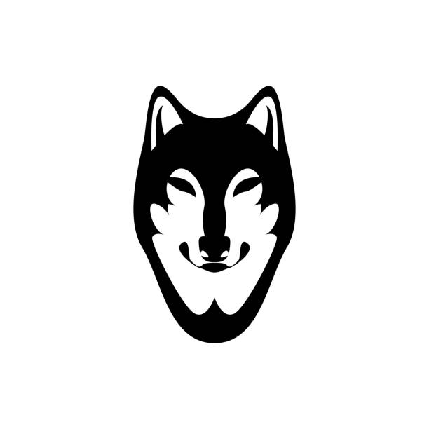 royalty free wolf logo design clip art vector images