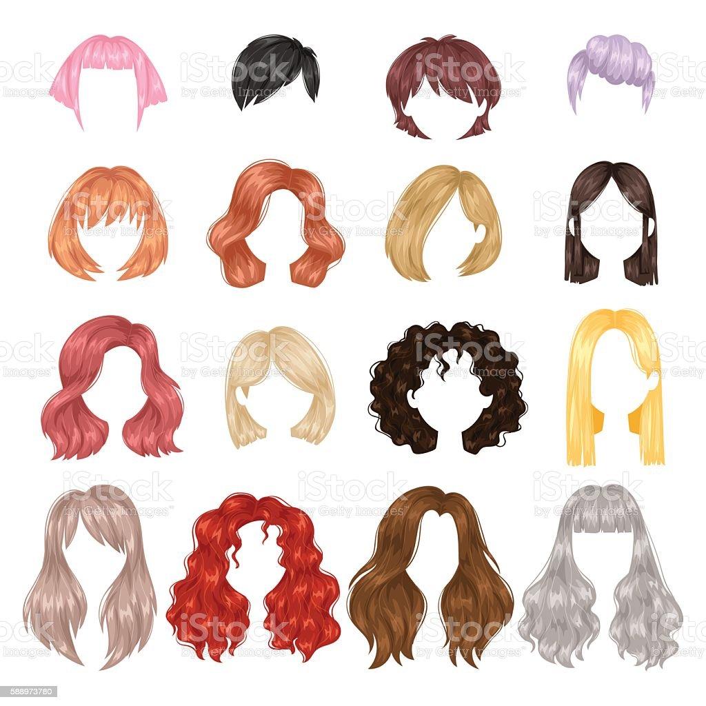 Vector Hairstyles