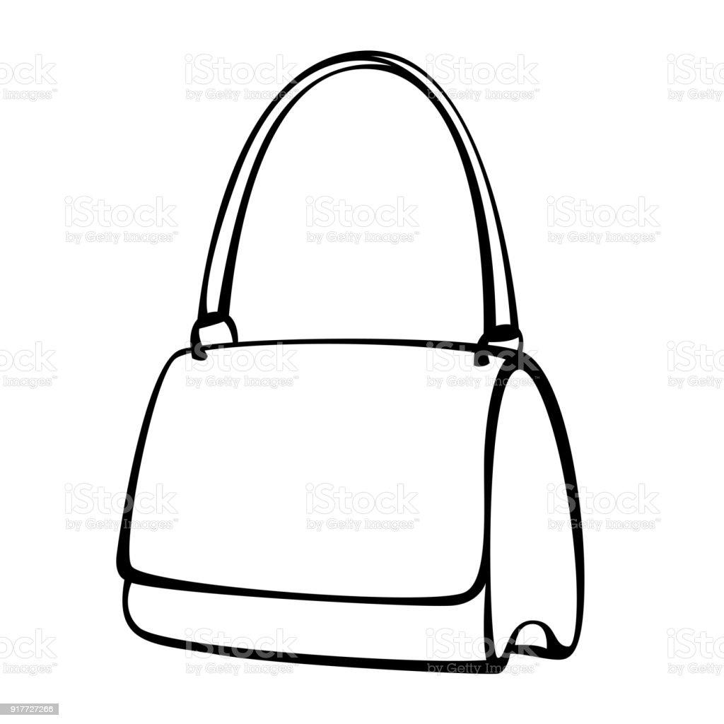 a9fe9ddd7f à du sac vectoriels du et femme cliparts à vecteur main main vecteur femme  sac axqUZwACq