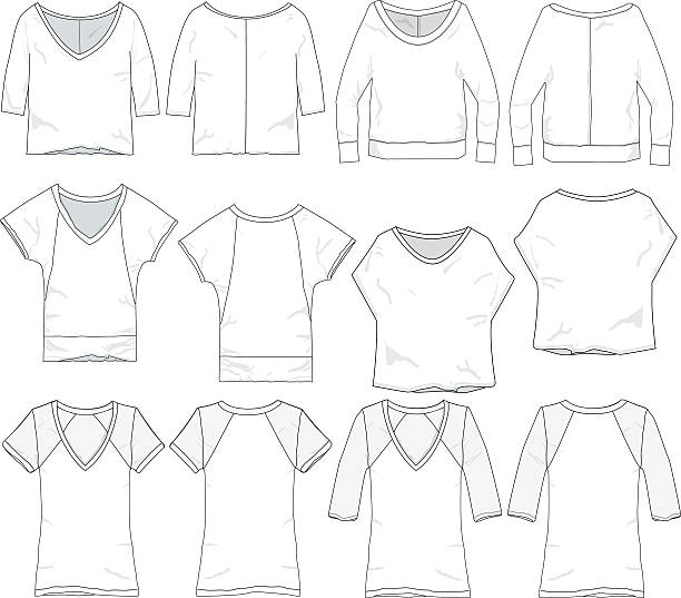 Royalty Free Neckline Woman Clip Art, Vector Images & Illustrations ...
