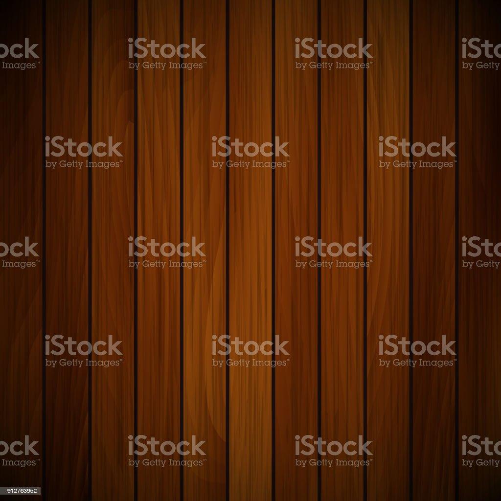 Vector wood plank vector art illustration