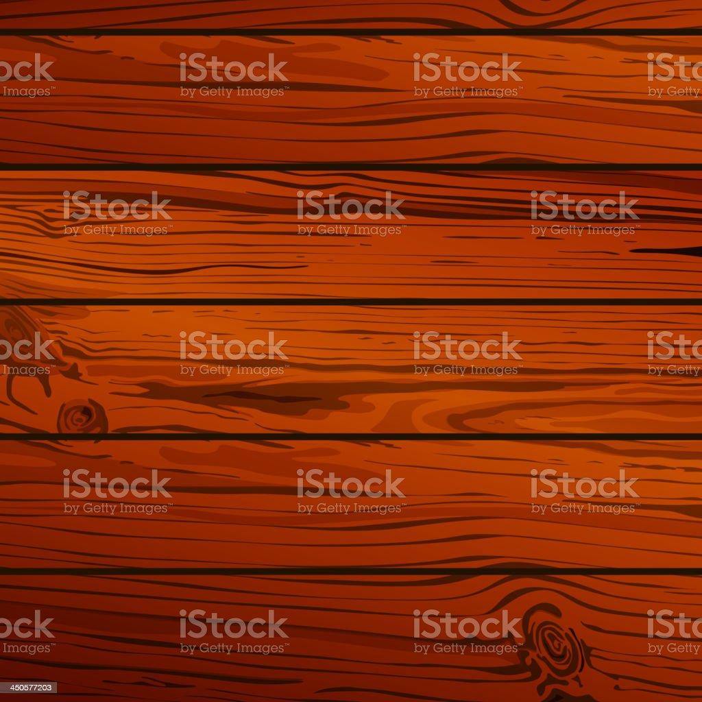 Vector wood planks royalty-free stock vector art