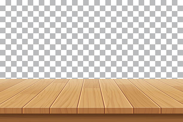 Royalty free wooden table clip art vector images
