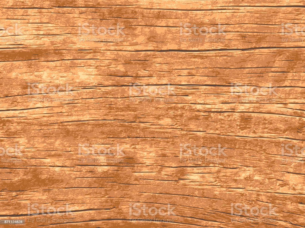 Vector wood texture for background vector art illustration