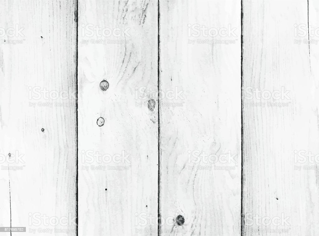 Vector wood texture. Natural Wooden Background vector art illustration