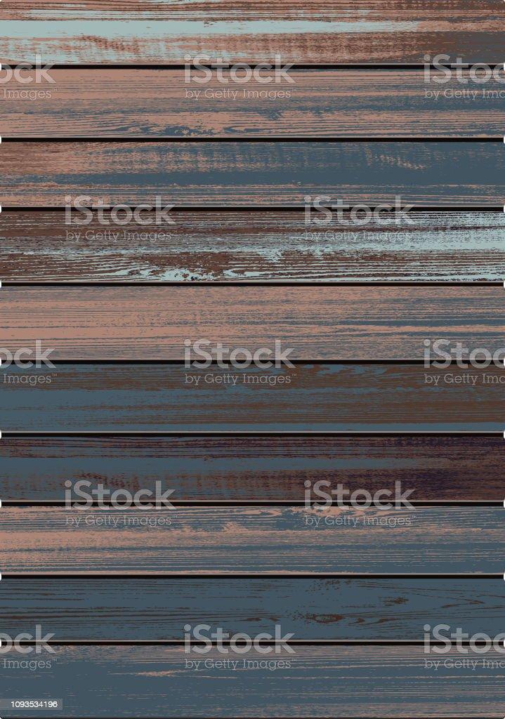 fond texturé bois vecteur - clipart vectoriel de Abstrait libre de droits