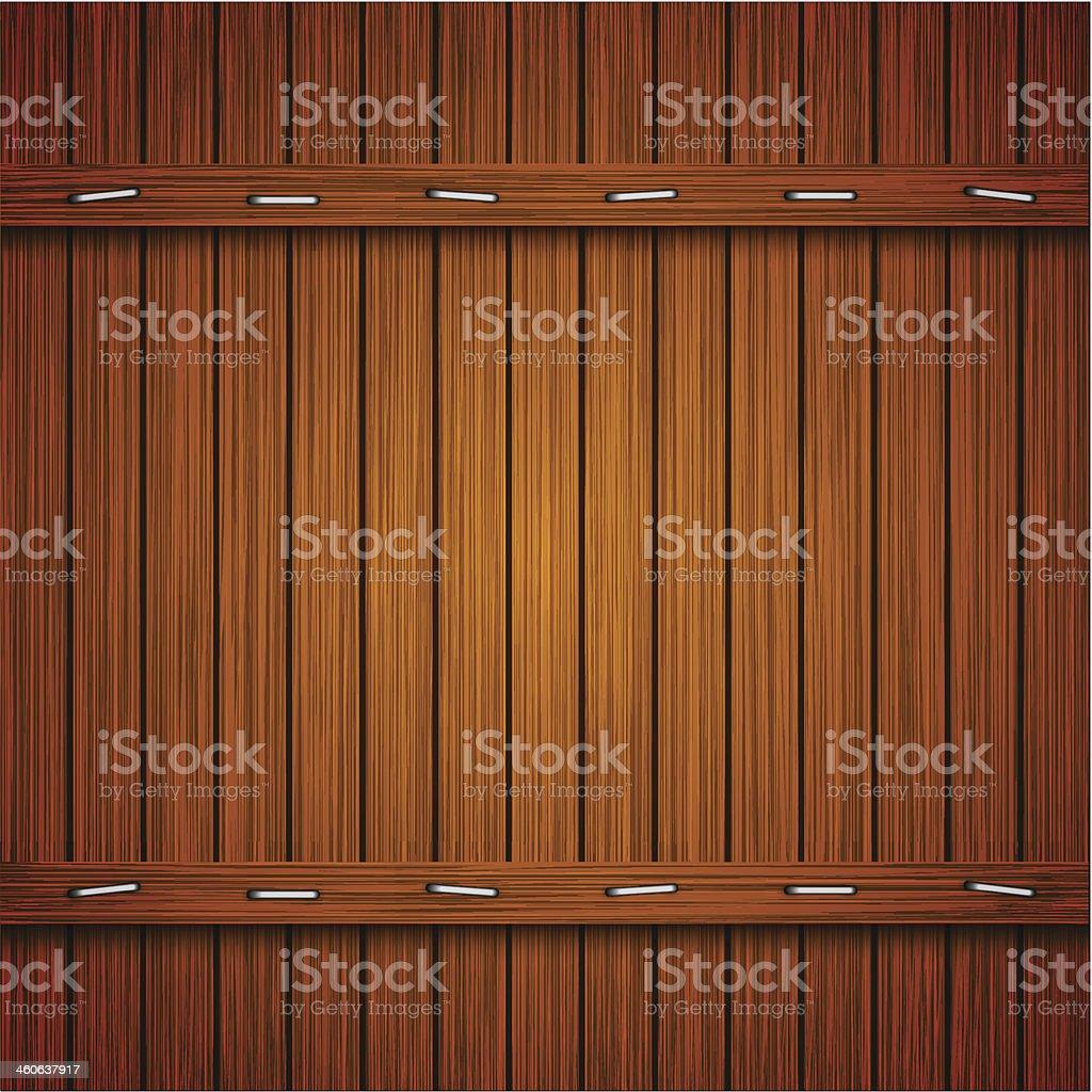 Vector wooden background. Eps10 vector art illustration