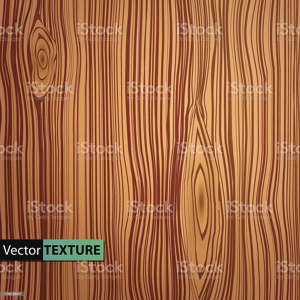 Vector wooden texture vector art illustration