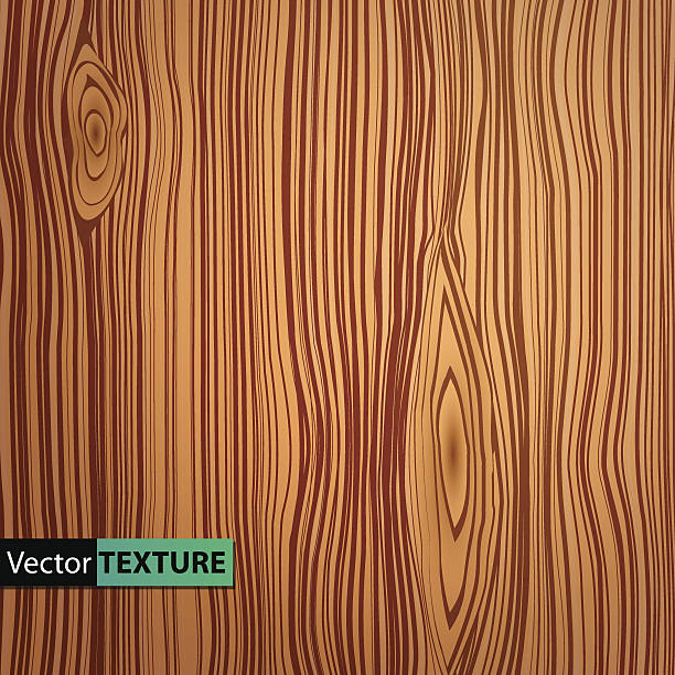 wektor drewniany tekstura płótna - wood texture stock illustrations