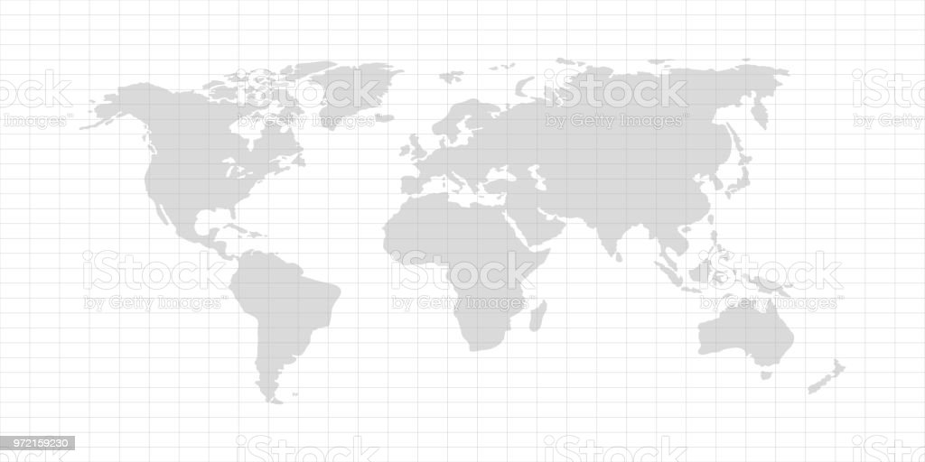 Vector world map with continent on a gray background stock vector vector world map with continent on a gray background royalty free vector world map with gumiabroncs Image collections