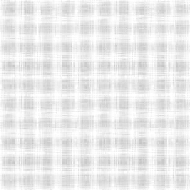 illustrazioni stock, clip art, cartoni animati e icone di tendenza di texture vettoriale in tessuto intrecciato. modello tessile senza cuciture. texture di lino ripetuta in colori grigio chiaro. - motivo ripetuto