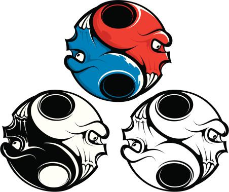 vector yin yang