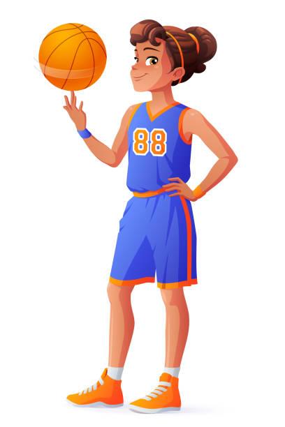 1 011 Girls Basketball Illustrations Royalty Free Vector Graphics Clip Art Istock