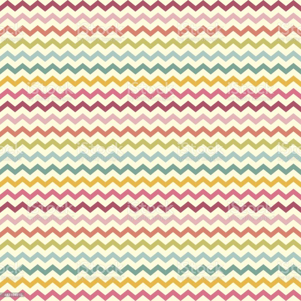 vector zigzag chevron pattern vector art illustration