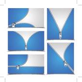 Vector Zipper Collection