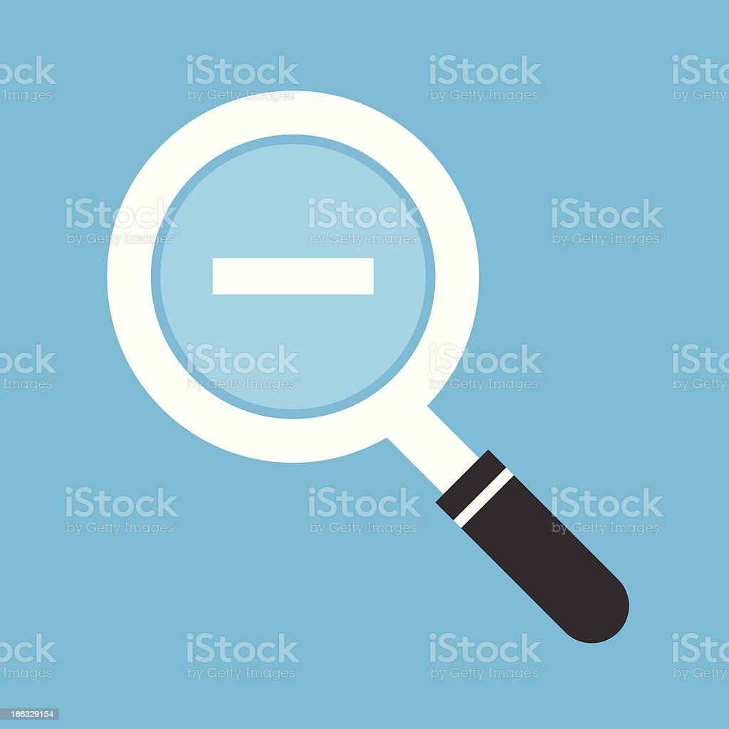 Vector Zoom Out Icon royalty-free vector zoom out icon stock vector art & more images of analyzing