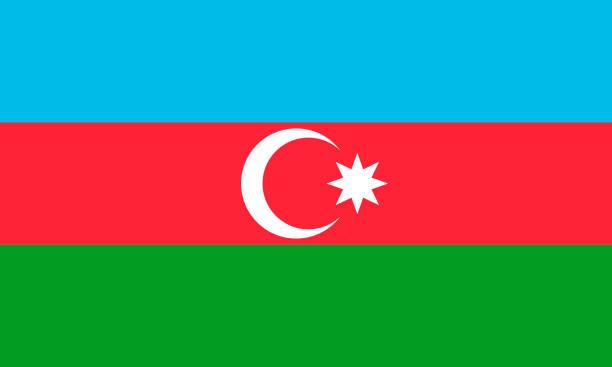 Vectorial illustration of the Azerbaijan flag. patriotic concept Vectorial illustration of the Azerbaijan flag. patriotic concept azerbaijan stock illustrations