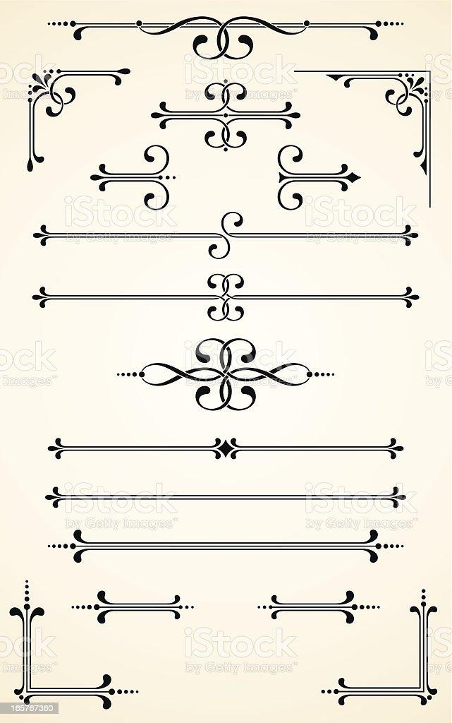 Vectorized Scroll Set