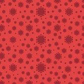 Vectors Corona virus seamless background,vector illustration.\nEPS 10.