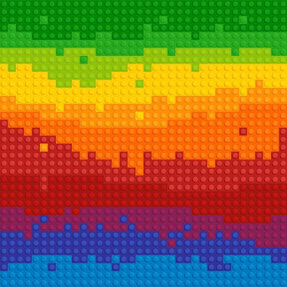 Vectors Spectrum Backgrounds Puzzle Toy Seamless