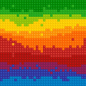 Spectrum Backgrounds Puzzle Toy Seamless