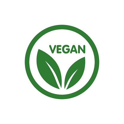 Vetores de Vegan Bio Ecologia Logótipo Biológico E Ícone Rótulo Etiqueta Ícone De Folha Verde Sobre Fundo Branco e mais imagens de Vegan - iStock