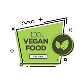 Vegan Food Badge
