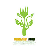 vegan food concept. eps 10 vector file