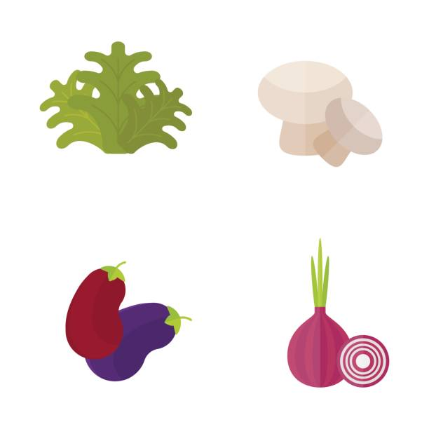 ビーガン食品自然レストラン フルーツ ベジタリアン健康食野菜ベクトル図白で隔離 ベクターアートイラスト