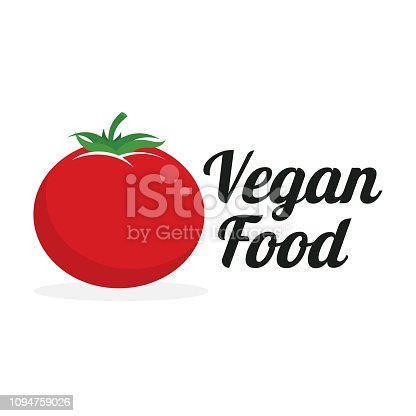vegan food. eps 10 vector file