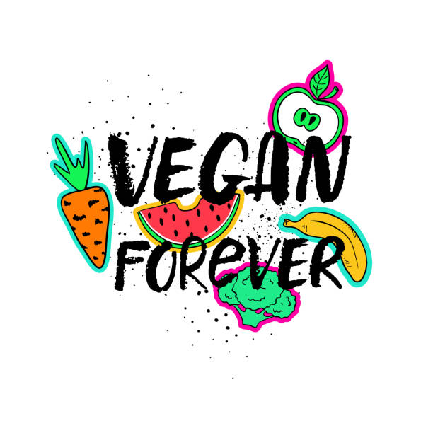 Best Funny Vegan Quotes Illustrations Royalty Free Vector