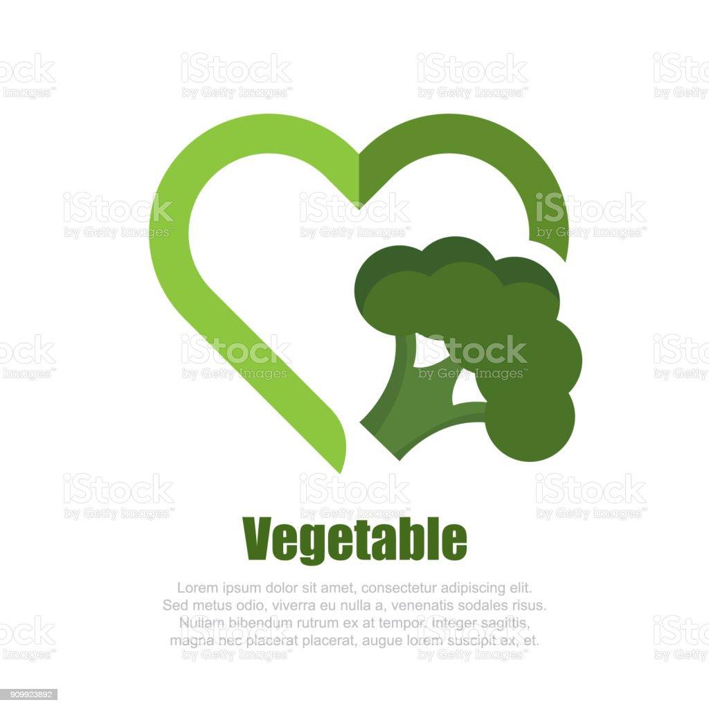 Vegan-Symbol – Vektorgrafik