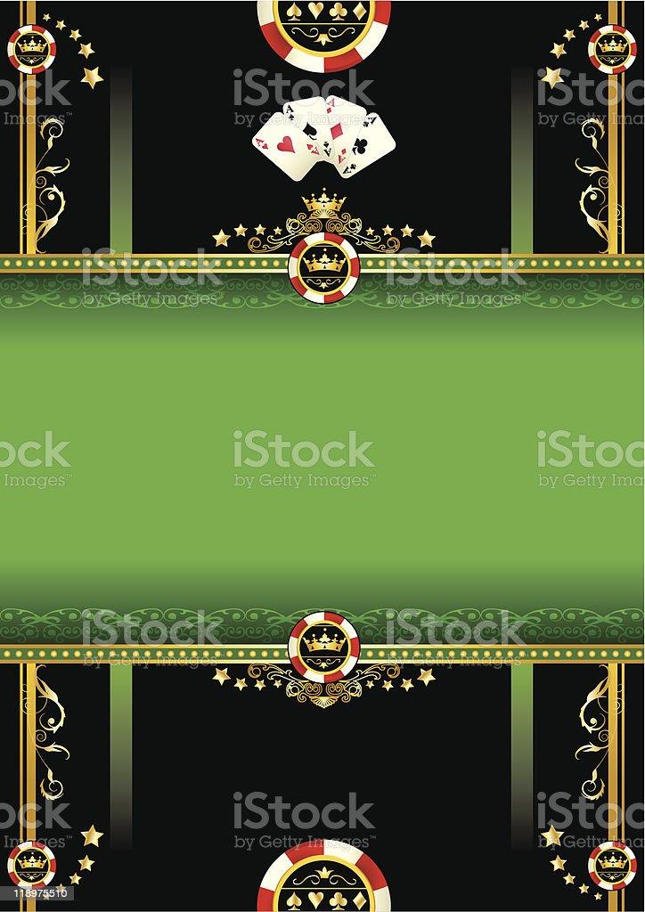 Vegas background royalty-free stock vector art