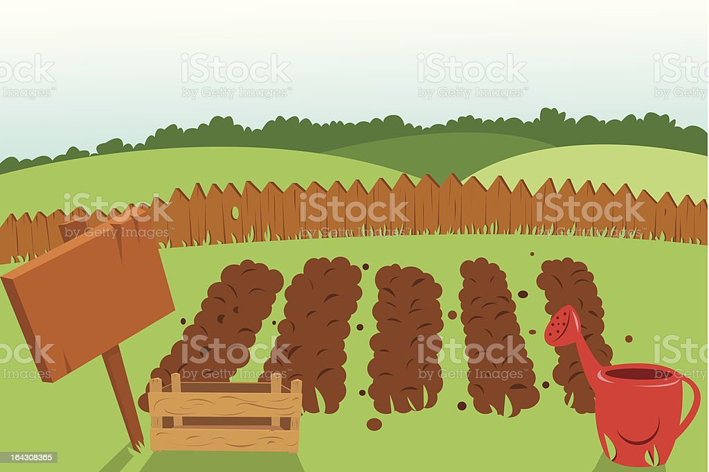 Vegetable Garden royalty-free vegetable garden stock vector art & more images of agriculture