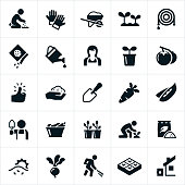 Vegetable Gardening Icons
