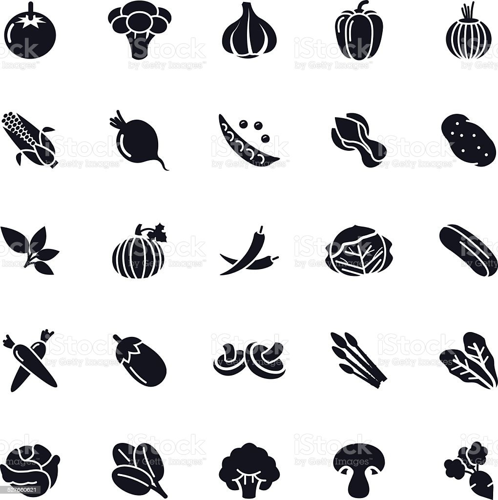 Vegetable Icon vector art illustration