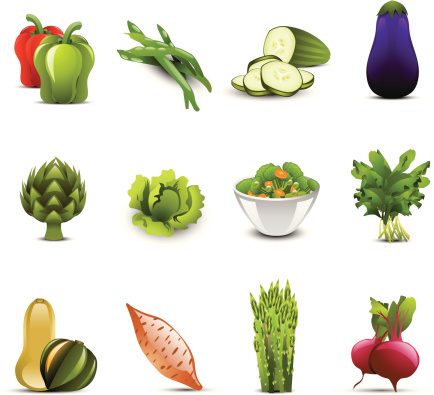 Vegetable Icons