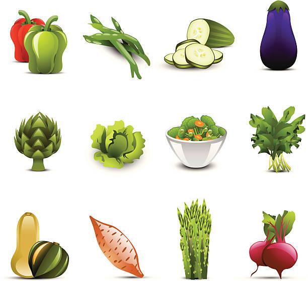 ilustrações de stock, clip art, desenhos animados e ícones de ícones de vegetais - red bell pepper isolated