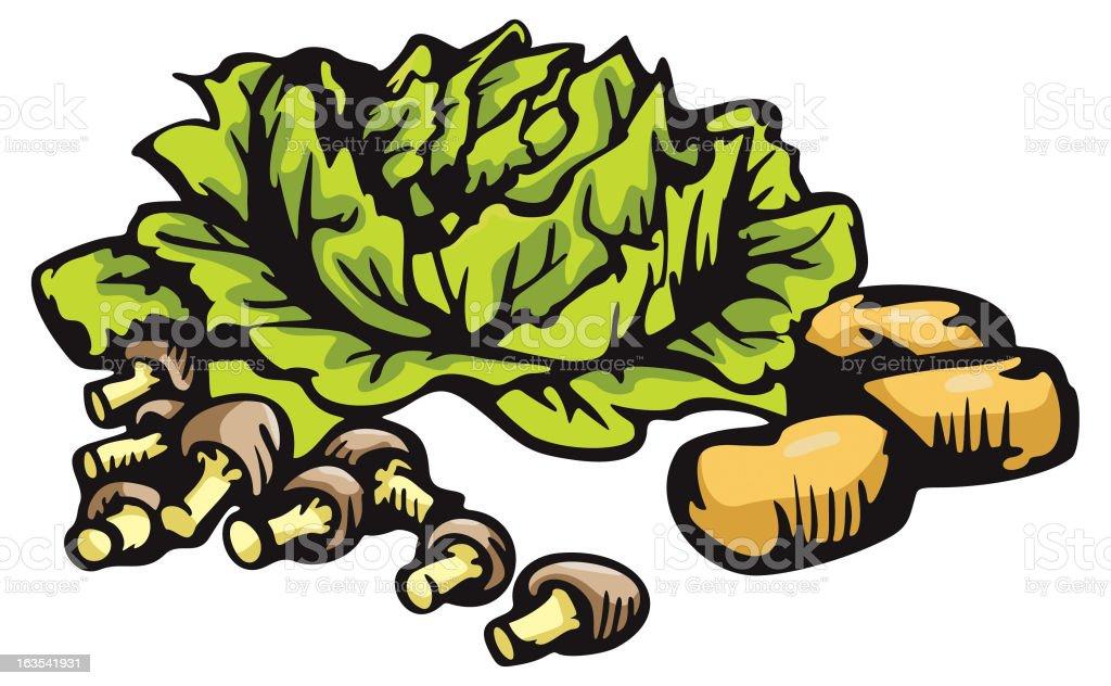 Vegetable Illustration XXXVII: Miscellaneous (Vector) royalty-free vegetable illustration xxxvii miscellaneous stock vector art & more images of bulgaria