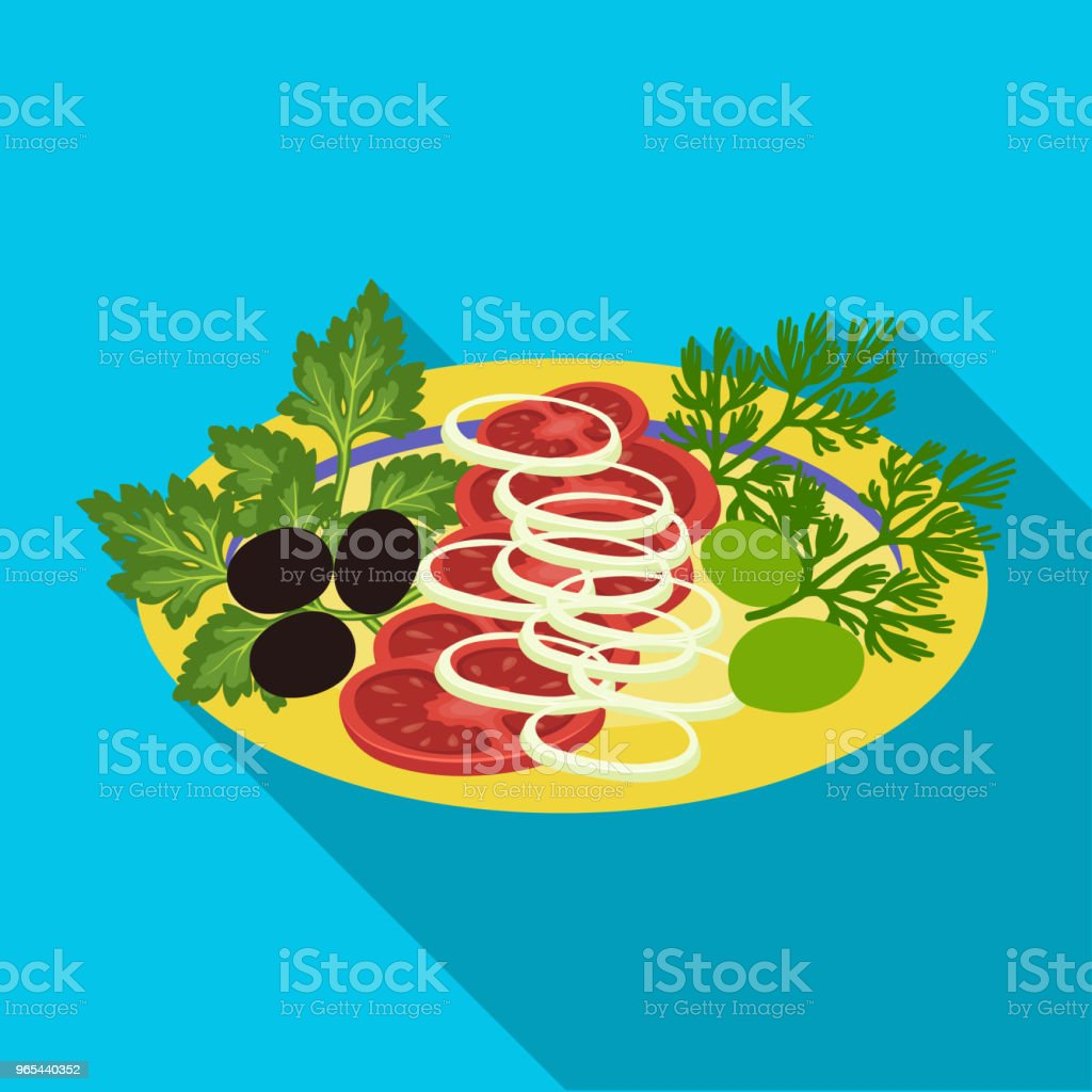 Vegetable salad. Food and cooking single icon in flat style vector symbol stock illustration web. royalty-free vegetable salad food and cooking single icon in flat style vector symbol stock illustration web stock vector art & more images of bowl