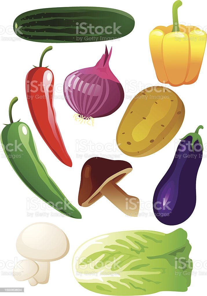 Vegetable royalty-free stock vector art