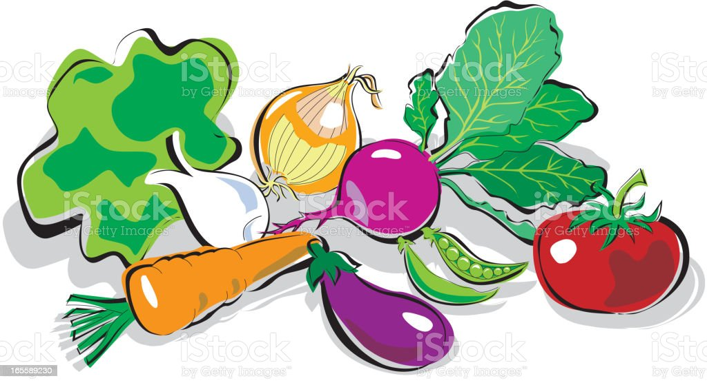 Vegetable royalty-free vegetable stock vector art & more images of antioxidant