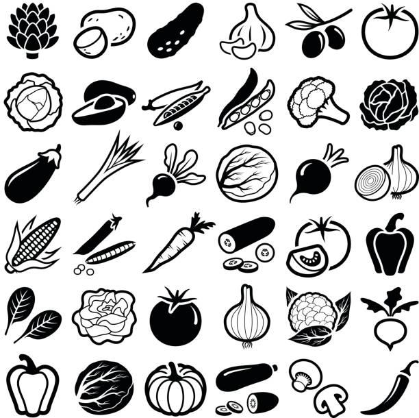 gemüse - kartoffeln stock-grafiken, -clipart, -cartoons und -symbole