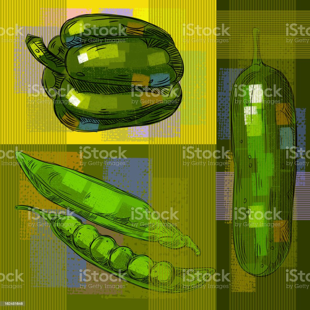 Vegetables Background royalty-free vegetables background stock vector art & more images of abstract