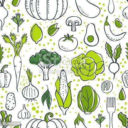 istock vegetables pattern 857603528