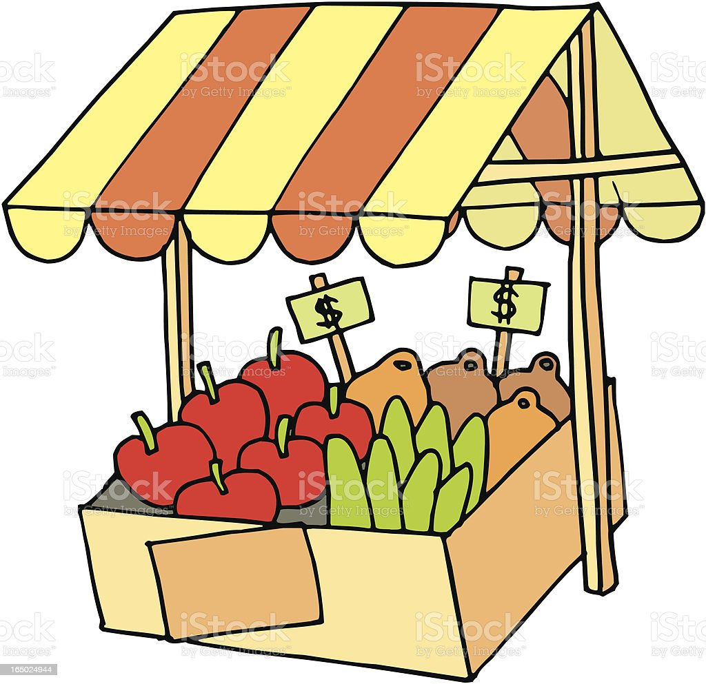 Vegetables royalty-free vegetables stock vector art & more images of agricultural fair