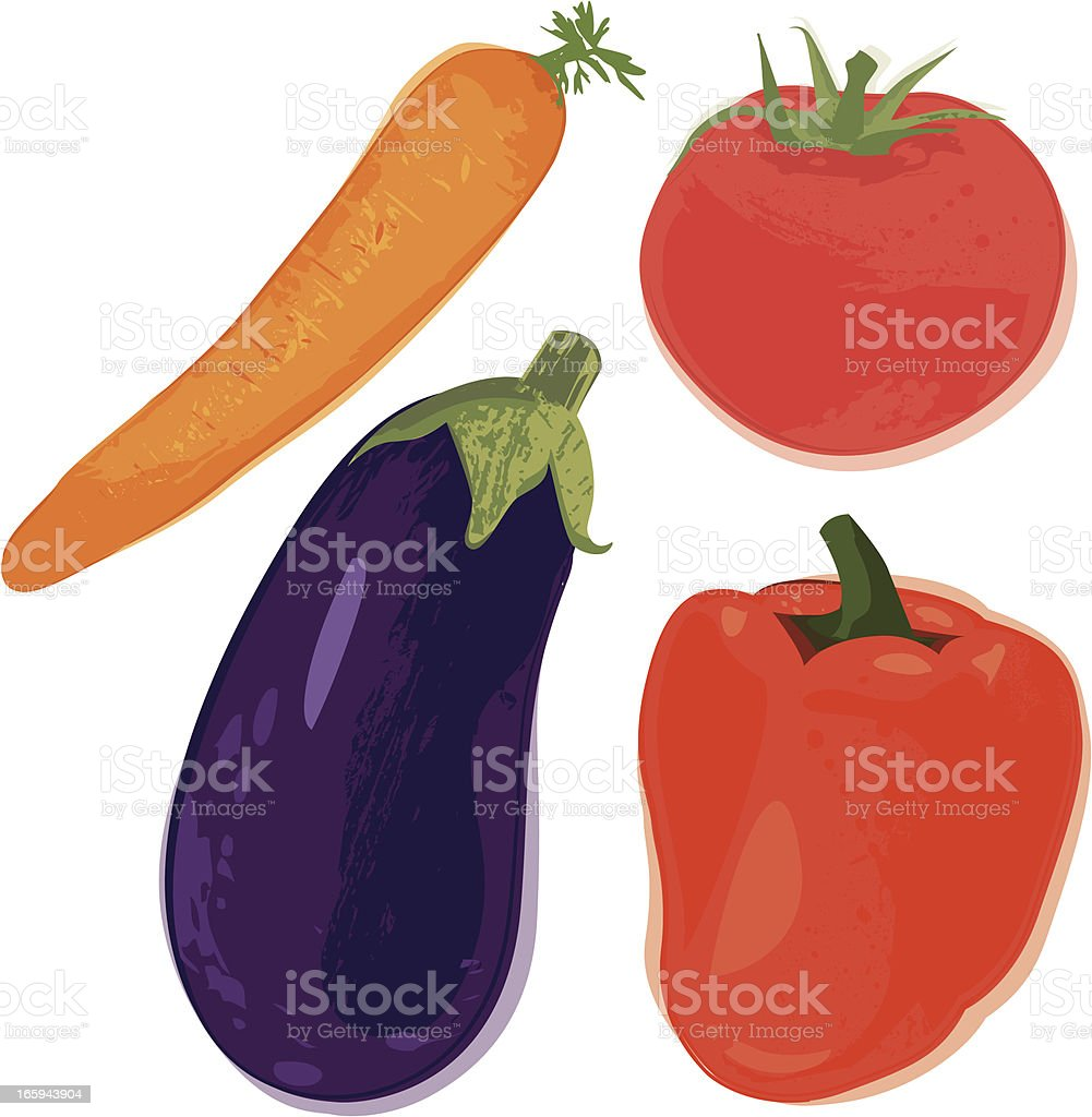 Vegetables royalty-free vegetables stock vector art & more images of beauty