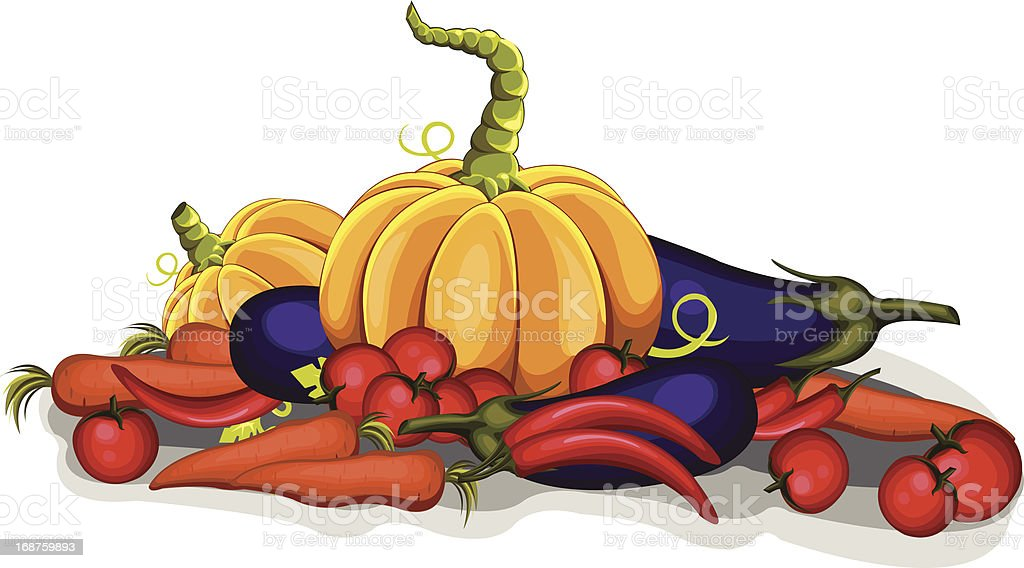 Vegetables royalty-free vegetables stock vector art & more images of carrot