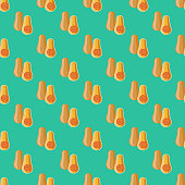 Vegetarian Seamless Pattern