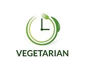 Vegetarian vector icon